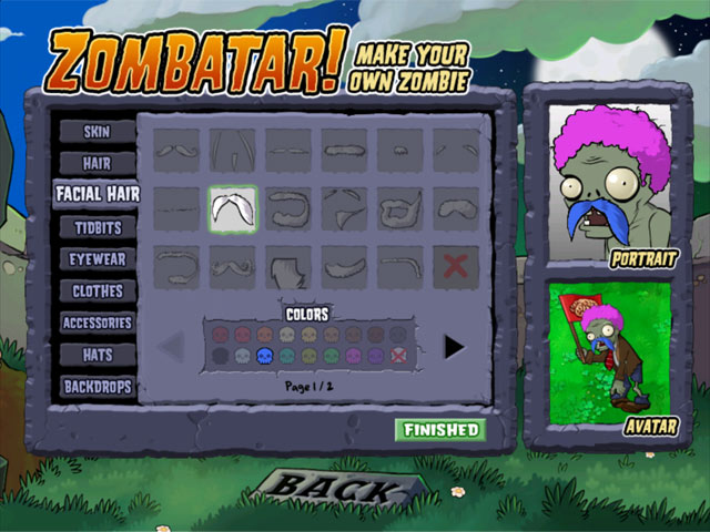 Create your own Zombie Avatar