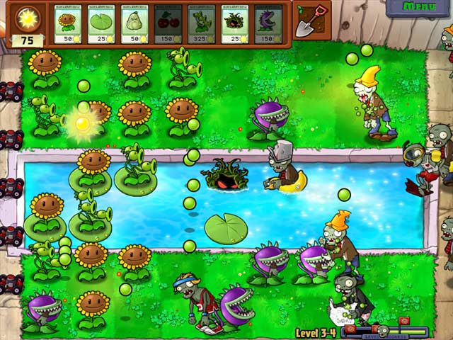 Plants vs Zombies full version screenshot