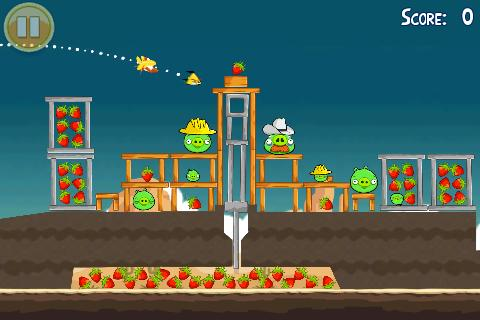 Android Games - Angry Birds