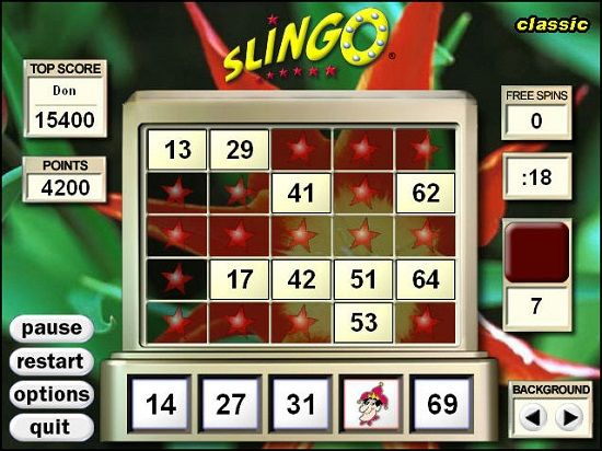 Funkitron's Slingo Deluxe for PC Download