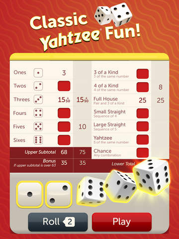 Free Yahtzee App For Iphone