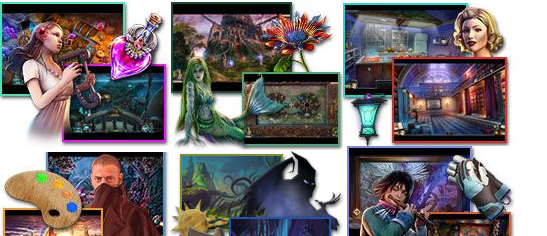 Best Hidden Object Games Lists for PC, Mac, iPad, iPhone from 2010 to 2017
