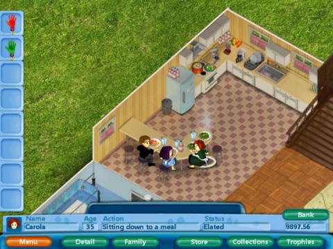 Virtual families simulation mobile game apps by last day for Online house builder simulator