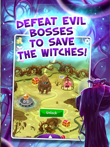 Free big fish match 3 games free the witch for pc ios for Big fish games phone number