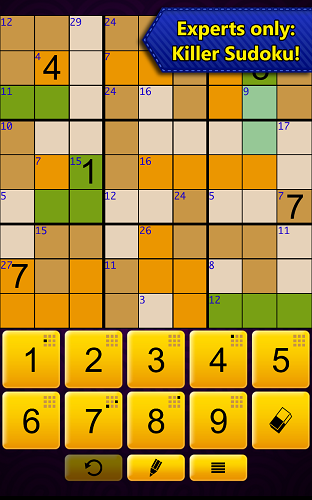 Sudoku Epic by Kristanix - Experts Only! Killer Sudoku