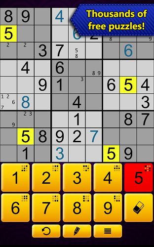 Sudoku Epic by Kristanix - Thousands of Free Puzzles