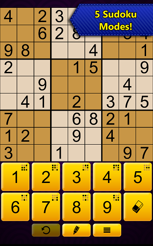 Sudoku Epic by Kristanix for Amazon Fire - 5 Sudoku Modes