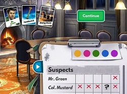 Clue Game for iPad iPhone