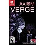 Axiom Verge for Nintendo Switch on Amazon UK